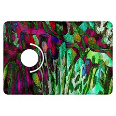 Bright Tropical Background Abstract Background That Has The Shape And Colors Of The Tropics Kindle Fire Hdx Flip 360 Case