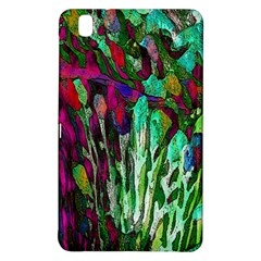 Bright Tropical Background Abstract Background That Has The Shape And Colors Of The Tropics Samsung Galaxy Tab Pro 8 4 Hardshell Case
