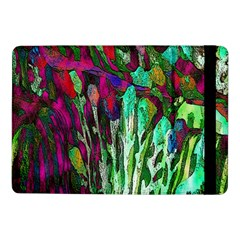 Bright Tropical Background Abstract Background That Has The Shape And Colors Of The Tropics Samsung Galaxy Tab Pro 10 1  Flip Case