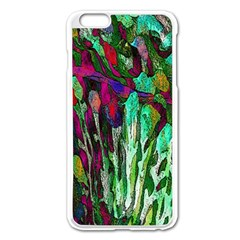 Bright Tropical Background Abstract Background That Has The Shape And Colors Of The Tropics Apple Iphone 6 Plus/6s Plus Enamel White Case