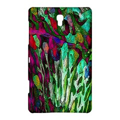 Bright Tropical Background Abstract Background That Has The Shape And Colors Of The Tropics Samsung Galaxy Tab S (8 4 ) Hardshell Case