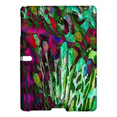 Bright Tropical Background Abstract Background That Has The Shape And Colors Of The Tropics Samsung Galaxy Tab S (10 5 ) Hardshell Case