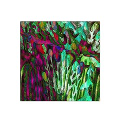 Bright Tropical Background Abstract Background That Has The Shape And Colors Of The Tropics Satin Bandana Scarf