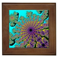 Beautiful Mandala Created With Fractal Forge Framed Tiles