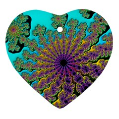 Beautiful Mandala Created With Fractal Forge Ornament (Heart)