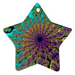 Beautiful Mandala Created With Fractal Forge Ornament (Star)