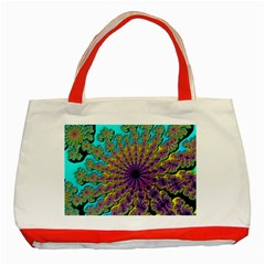 Beautiful Mandala Created With Fractal Forge Classic Tote Bag (Red)