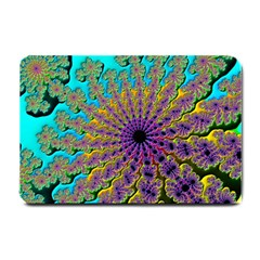Beautiful Mandala Created With Fractal Forge Small Doormat