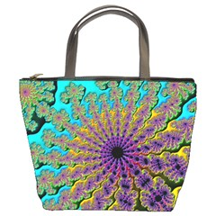Beautiful Mandala Created With Fractal Forge Bucket Bags