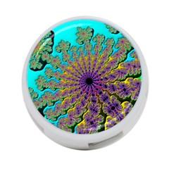 Beautiful Mandala Created With Fractal Forge 4-Port USB Hub (Two Sides)