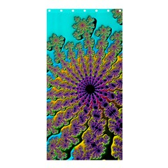 Beautiful Mandala Created With Fractal Forge Shower Curtain 36  X 72  (stall)