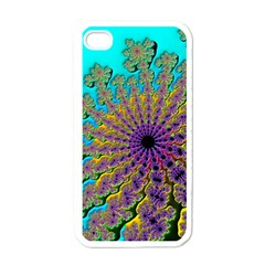 Beautiful Mandala Created With Fractal Forge Apple iPhone 4 Case (White)