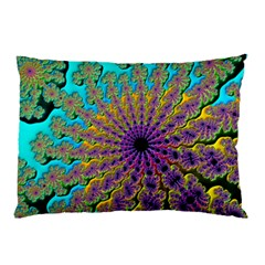 Beautiful Mandala Created With Fractal Forge Pillow Case (two Sides)