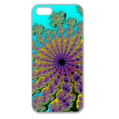 Beautiful Mandala Created With Fractal Forge Apple Seamless Iphone 5 Case (clear)
