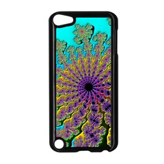 Beautiful Mandala Created With Fractal Forge Apple iPod Touch 5 Case (Black)