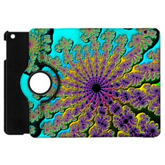 Beautiful Mandala Created With Fractal Forge Apple Ipad Mini Flip 360 Case