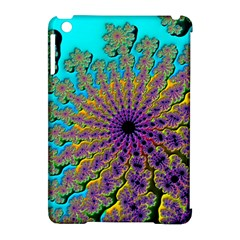 Beautiful Mandala Created With Fractal Forge Apple iPad Mini Hardshell Case (Compatible with Smart Cover)