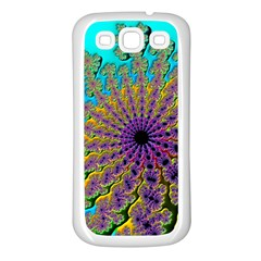 Beautiful Mandala Created With Fractal Forge Samsung Galaxy S3 Back Case (White)