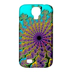 Beautiful Mandala Created With Fractal Forge Samsung Galaxy S4 Classic Hardshell Case (pc+silicone)