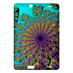 Beautiful Mandala Created With Fractal Forge Amazon Kindle Fire HD (2013) Hardshell Case