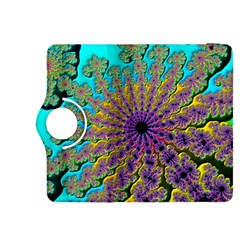 Beautiful Mandala Created With Fractal Forge Kindle Fire Hdx 8 9  Flip 360 Case