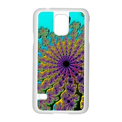 Beautiful Mandala Created With Fractal Forge Samsung Galaxy S5 Case (white)