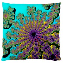 Beautiful Mandala Created With Fractal Forge Standard Flano Cushion Case (Two Sides)