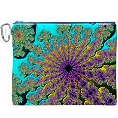 Beautiful Mandala Created With Fractal Forge Canvas Cosmetic Bag (XXXL)