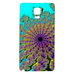 Beautiful Mandala Created With Fractal Forge Galaxy Note 4 Back Case