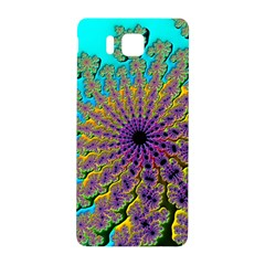 Beautiful Mandala Created With Fractal Forge Samsung Galaxy Alpha Hardshell Back Case
