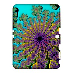 Beautiful Mandala Created With Fractal Forge Samsung Galaxy Tab 4 (10.1 ) Hardshell Case