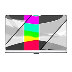 Colors Fadeout Paintwork Abstract Business Card Holders