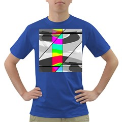 Colors Fadeout Paintwork Abstract Dark T Shirt