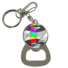 Colors Fadeout Paintwork Abstract Button Necklaces