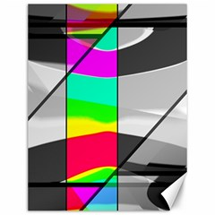 Colors Fadeout Paintwork Abstract Canvas 12  x 16