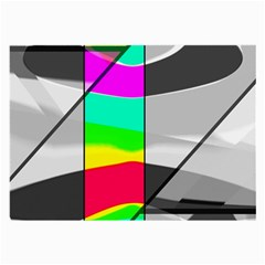 Colors Fadeout Paintwork Abstract Large Glasses Cloth (2 Side)