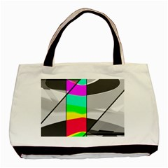 Colors Fadeout Paintwork Abstract Basic Tote Bag (Two Sides)