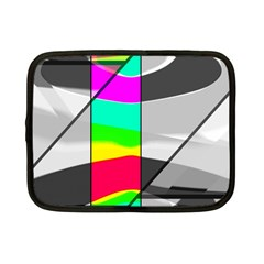 Colors Fadeout Paintwork Abstract Netbook Case (Small)