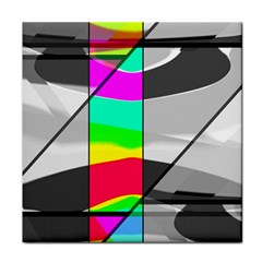 Colors Fadeout Paintwork Abstract Face Towel