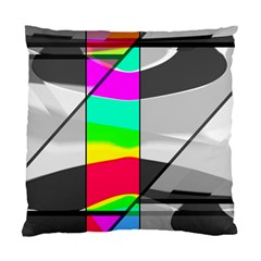 Colors Fadeout Paintwork Abstract Standard Cushion Case (two Sides)