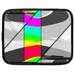 Colors Fadeout Paintwork Abstract Netbook Case (xxl)