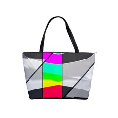 Colors Fadeout Paintwork Abstract Shoulder Handbags