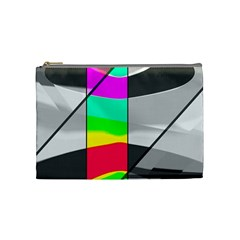 Colors Fadeout Paintwork Abstract Cosmetic Bag (Medium)