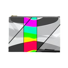 Colors Fadeout Paintwork Abstract Cosmetic Bag (large)