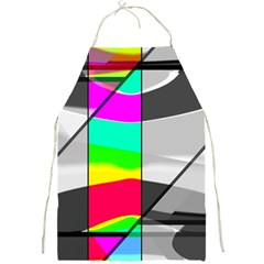 Colors Fadeout Paintwork Abstract Full Print Aprons