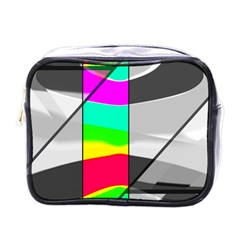 Colors Fadeout Paintwork Abstract Mini Toiletries Bags