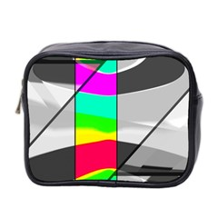Colors Fadeout Paintwork Abstract Mini Toiletries Bag 2-Side