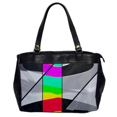 Colors Fadeout Paintwork Abstract Office Handbags