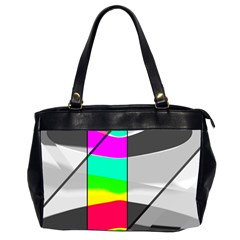 Colors Fadeout Paintwork Abstract Office Handbags (2 Sides)