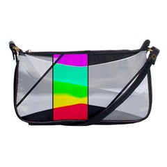 Colors Fadeout Paintwork Abstract Shoulder Clutch Bags